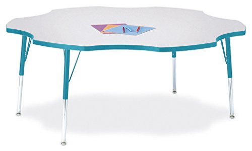 (Berries 6458JCA005 Six Leaf Activity Table, A-Height, 60