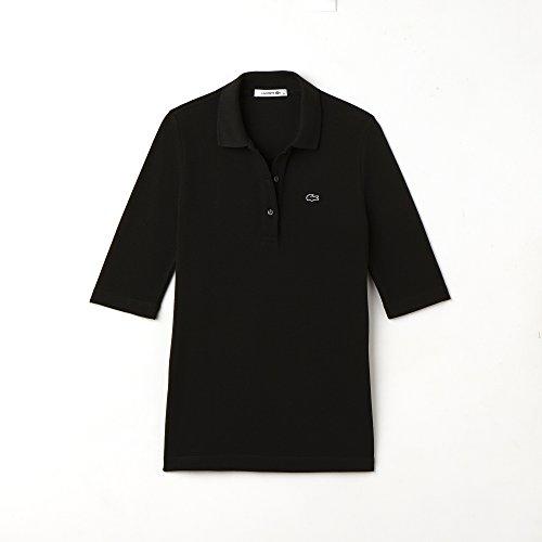 Maniche Lacoste 3 Basic 4 Maglia Sportiva Donna A Black 031 trp1ctqw