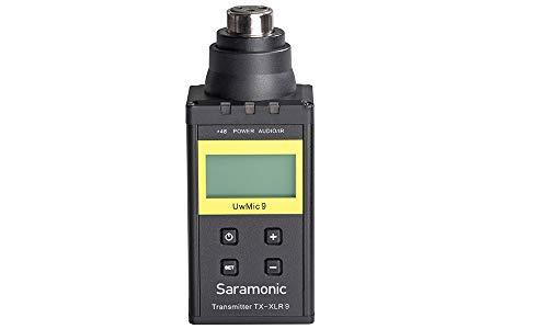 Saramonic TX-XLR9 Plug-on XLR Transmitter for UwMIC9 Digital UHF Wireless Microphone System (Wireless Uhf Xlr Plug)