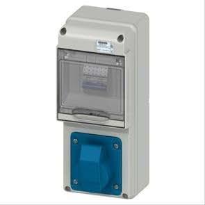 Gewiss GW68227N Blanco caja de tomacorriente - Caja registradora