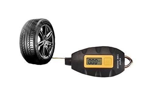CHRISTMAS SALE- 70% OFF-KING Digital Tire Pressure Gauge -Keychain Hookable-Tpmc- LED Screen-For Cars, Trucks, Motorcycles and Bike-4 Ranges