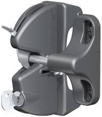 D&D Technologies LLAA V6201 Stanley Gate Lock Latch, Black