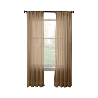 Taupe Linda curtain inches Package product image
