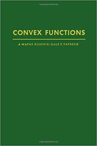 Convex functions (Pure and applied mathematics
