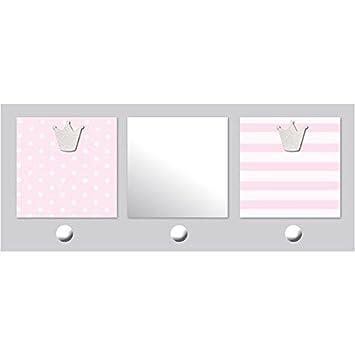 TITOUTAM - Patère chambre bébé avec miroir et porte-photos 2 vues ...