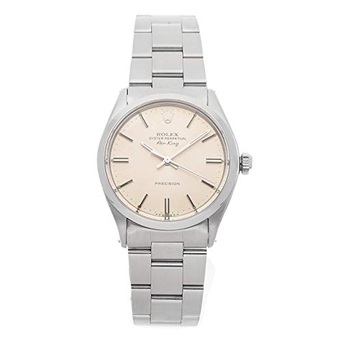 Rolex Air-King Mechanical (Automatic) Silver Dial Mens Watch 5500 (Certified Pre-Owned)