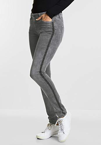 One Jean Street Femme grau Slim Random Grey Bleach f4qdwz4x