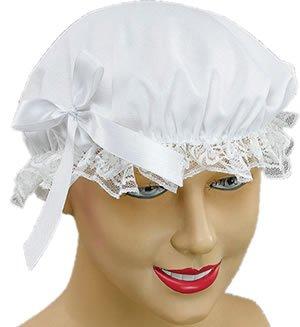 [White Ladies Victorian Maid Cap] (Maid Hat)