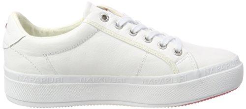 NAPAPIJRI Astrid Footwear Bright Mujer Zapatillas para White Blanco q6q5Brw