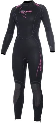 Bare 5mm Womens Sport Full Wetsuit for Scuba Diving and Snorkeling