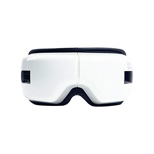 アイマッサージャー疲労緩和アイケアホットアイマスク充電スマート振動アイマッサージャー B07TRSYWF4