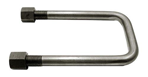 4 Ea U-Bolt Kit 14In, Buyers Products UB623514 U-Bolt Kit