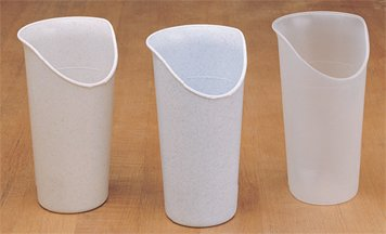 Nosey Cups 8 Oz, Clear