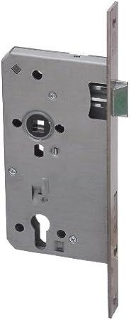 65mm x 92 Einsteckschloss Haust/ürschloss ES 979 f/ür Profilzylinder DIN-Rechts