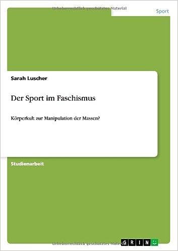 Der Sport Im Faschismus