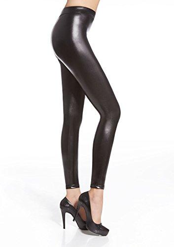 Bas Bleu Damen Leggings schwarz Taille S