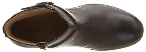 Kickers Mila, Zapatillas de Estar por Casa para Mujer marrón