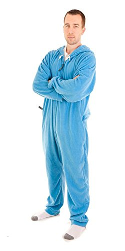 Forever Lazy Adult Onesie - Bum Around Blue - XS