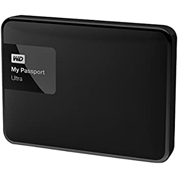 WD 500GB Black My Passport Ultra Portable External Hard Drive - USB 3.0 - WDBWWM5000ABK-NESN [Old Model]