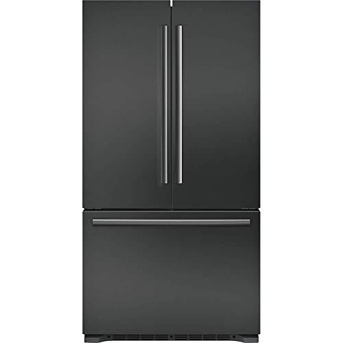 """'Bosch 800 Series 36"""" Black Stainless Steel 3-Door Counter D"""