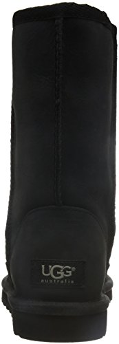 para UGG Black Short Leather Classic Mujer Botas OxnOq7rZ1