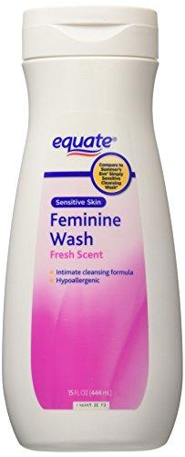 Equate Feminine Wash Sensitive Skin Fresh Scent 15 oz