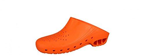 Safeway - Zuecos de goma para mujer Arancione