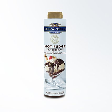 Ghirardelli Hot Fudge Squeeze Bottle | 23 oz. | Desserts & Ice Cream