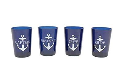 DEI Captain/First Mate/Crew Drinkware Set