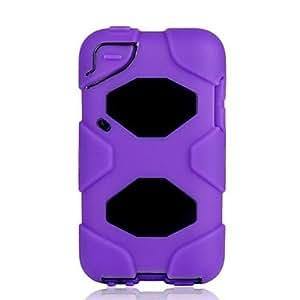 Brand New Heavy Duty caso de la cubierta de armadura resistente para iPod Touch 4Verde