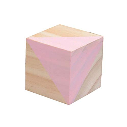 Amazon.com: ZAMTAC Multicolour Wood Cubic Brick DIY Blocks ...