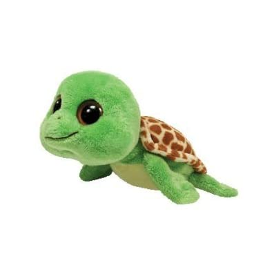 "Ty Beanie Boos Sandy Turtle 6"" Plush: Toys & Games"