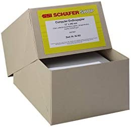 Schäfer Shop Computer Endlospapiere, DIN A4, 3-fach blanko, 600 Stück