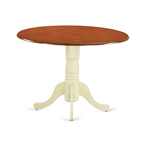 - East West Furniture DLT-BMK-TP Dublin Round Table With Two 9