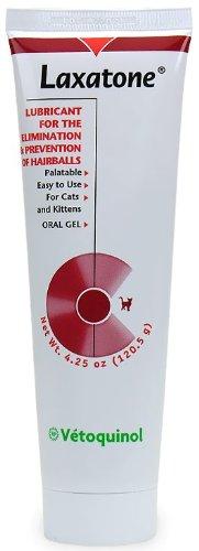 Laxatone by Tomlyn Hairball Remedy, Catnip Flavor – 4.25 oz, My Pet Supplies