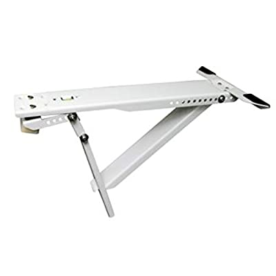 KT05L Universal Heavy Duty Window Air Conditioner AC Support Bracket - Up to 165 lbs. - for 10,000 BTU to 28,000 BTU AC