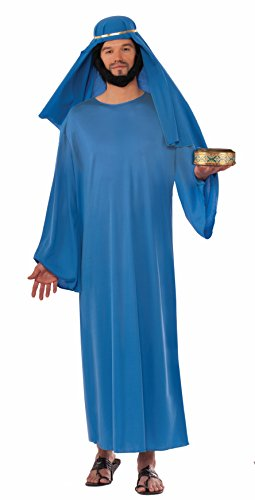Forum Men's Value Biblical Robe, Blue, Standard