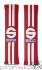 Sparco 77 Alcance Rojo 0109077rs - Pastillas de arnés de asiento ...