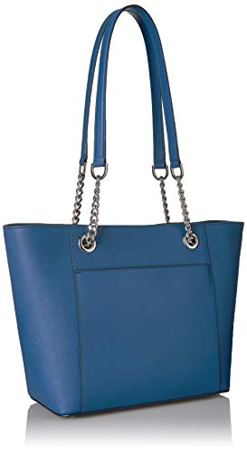 Calvin Klein Hayden Saffiano Leather East/West Top Zip Chain Tote, seaport by Calvin Klein (Image #6)