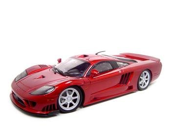 Saleen S7 Twin Turbo Red Diecast Model 1:12 Die Cast Car by Motormax