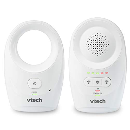 VTech DM1111, Enhanced Range Digital Audio Baby Monitor, 1 Parent Unit, White (Renewed)