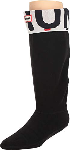 Hunter Unisex Original Tall Boot Sock Exploded Logo Cuff Exploded Logo Medium -
