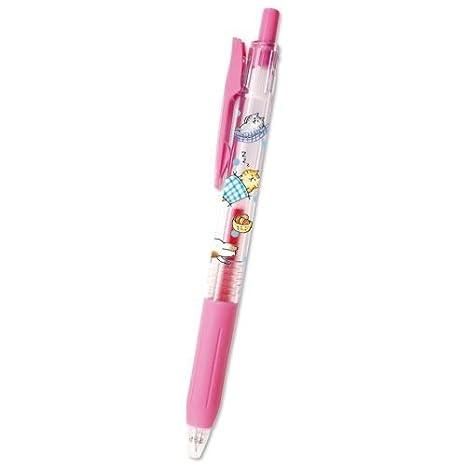 Bolígrafo de tinta de gel boli rosa con graciosos gatos de Japón: Amazon.es: Hogar