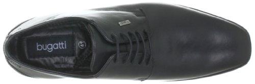 Bugatti B3802S1 Herren Derby Schnürhalbschuhe Schwarz (schwarz 100)