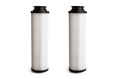 40140201 Hepa Filter Replacement - Green Label 2 Pack Replacement HEPA Filter Type 201 for Hoover Windtunnel, Savvy & Empower Vacuum Cleaners (compares to 43611042, 42611049, 40140201). Washable and Reusable