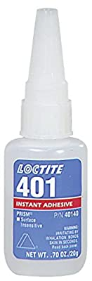 Loctite. 40140 Clear 40140 401 Prism Surface Insensitive Instant Adhesive, 20 mL Bottle