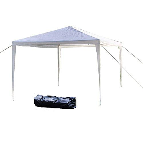 Z ZTDM 10 x 10 Outdoor Canopy Tent,Party Wedding Gazebo Pavilion Patio Catering Event Dancing,Upgrade Tube Steel,W Free Carrying Bag Free Stainless Stake and Nylon Ropes 10 x 10