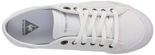 Coq Le Sportif blanc Bianco Sneakers Unisex Deauville Plus White optical A44W5wdaq