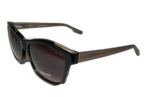 Ted Baker Womens TB109 Tortoise Brown Gold Small Frame - Ted Baker Case Sunglasses