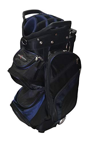 CaddyDaddy Roadrunner Wheeled Cart Golf Bag – DiZiSports Store